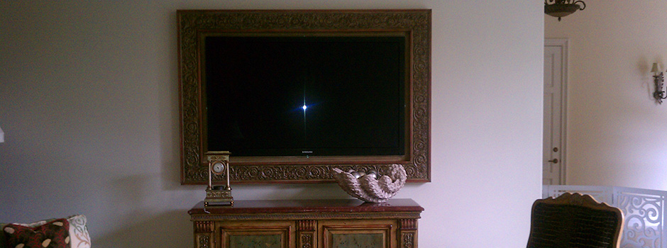 Decorative In wall Television