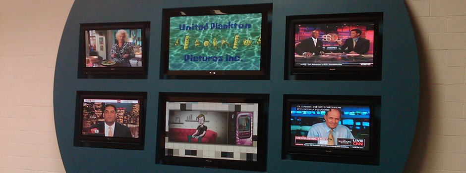 Television Wall Display